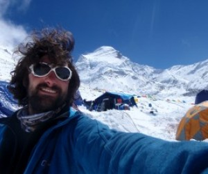 Cho Oyu Base Camp, 5700m Sept 2011