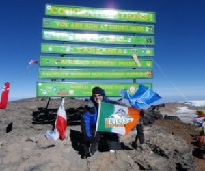On Summit of Kilimanjaro 5,895m 4 Feb 2012