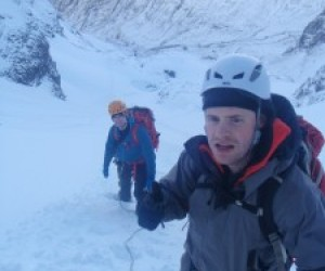 Winter training on Ben Nevis, March  2012
