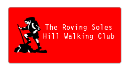 roving soles hill walkers club logo